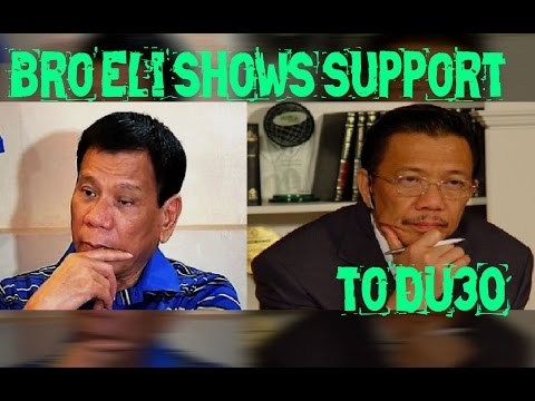 Duterte Catholic Church Issue - Bro Eli Soriano Shows Support To Duterte