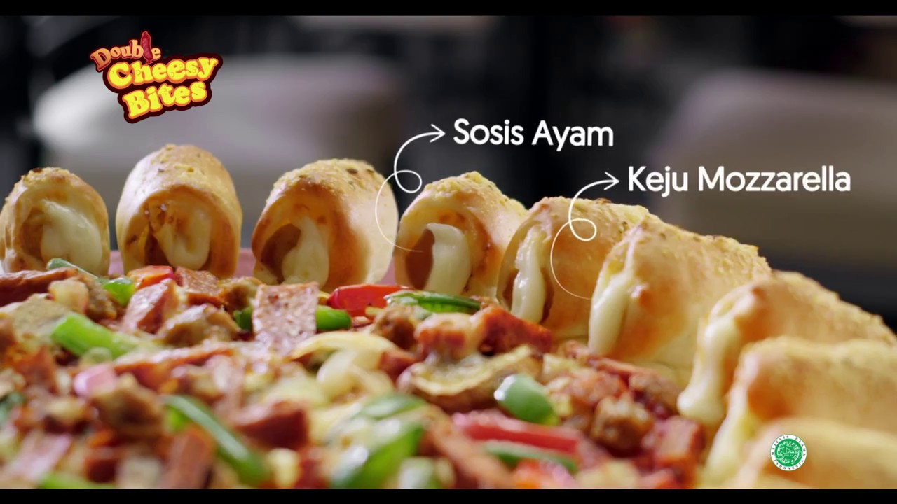 Pizza Hut Double Cheesy Bites Versi Hobi