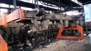 Bogie frame Manuplator