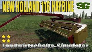 "[""Farming"", ""Simulator"", ""LS19"", ""Modvorstellung"", ""Landwirtschafts-Simulator"", ""NEW HOLLAND 116 HAYBINE"", ""LS19 Modvorstellung Landwirtschafts-Simulator :NEW HOLLAND 116 HAYBINE""]"