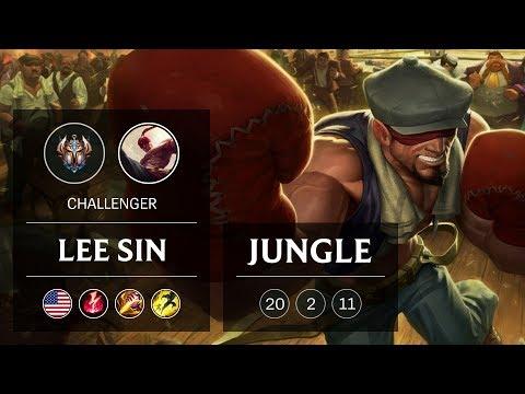 Lee Sin Jungle vs Aatrox - NA Challenger Patch 9.1