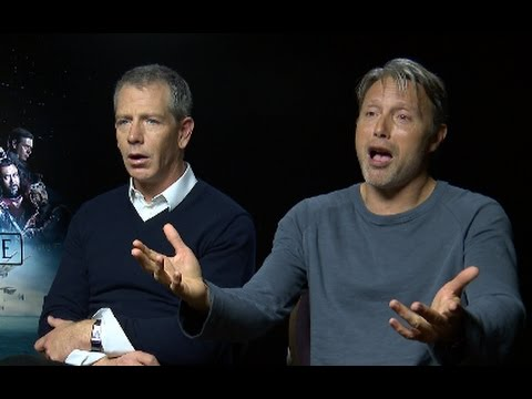 Mads Mikkelsen & Ben Mendelsohn Rogue One interview. Star Wars A New Hope is our sequel.