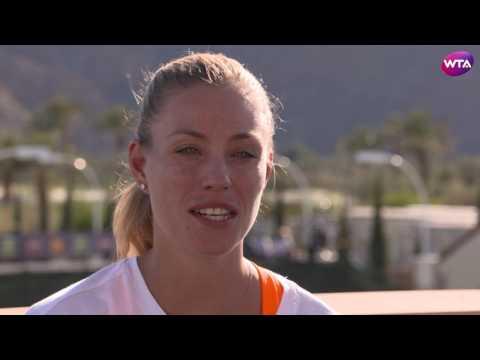 Angelique Kerber | 2017 BNP Paribas Open Pre-Tournament Interview