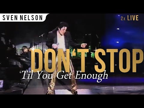 Michael Jackson - Don't Stop Til You Get Enough (Live HIStory World Tour 2x)