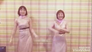 阿佐ヶ谷姉妹の仮装をしました。 せっかくなので、そのまま恋ダンスを踊...
