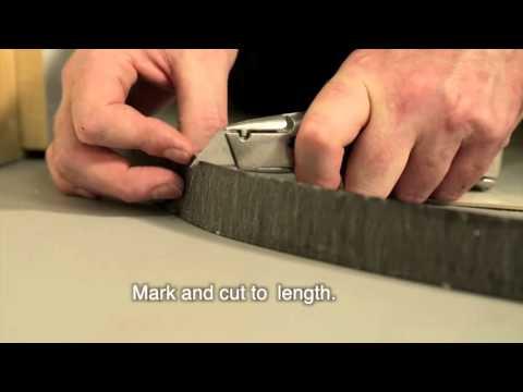Installation Step Reduce Strip