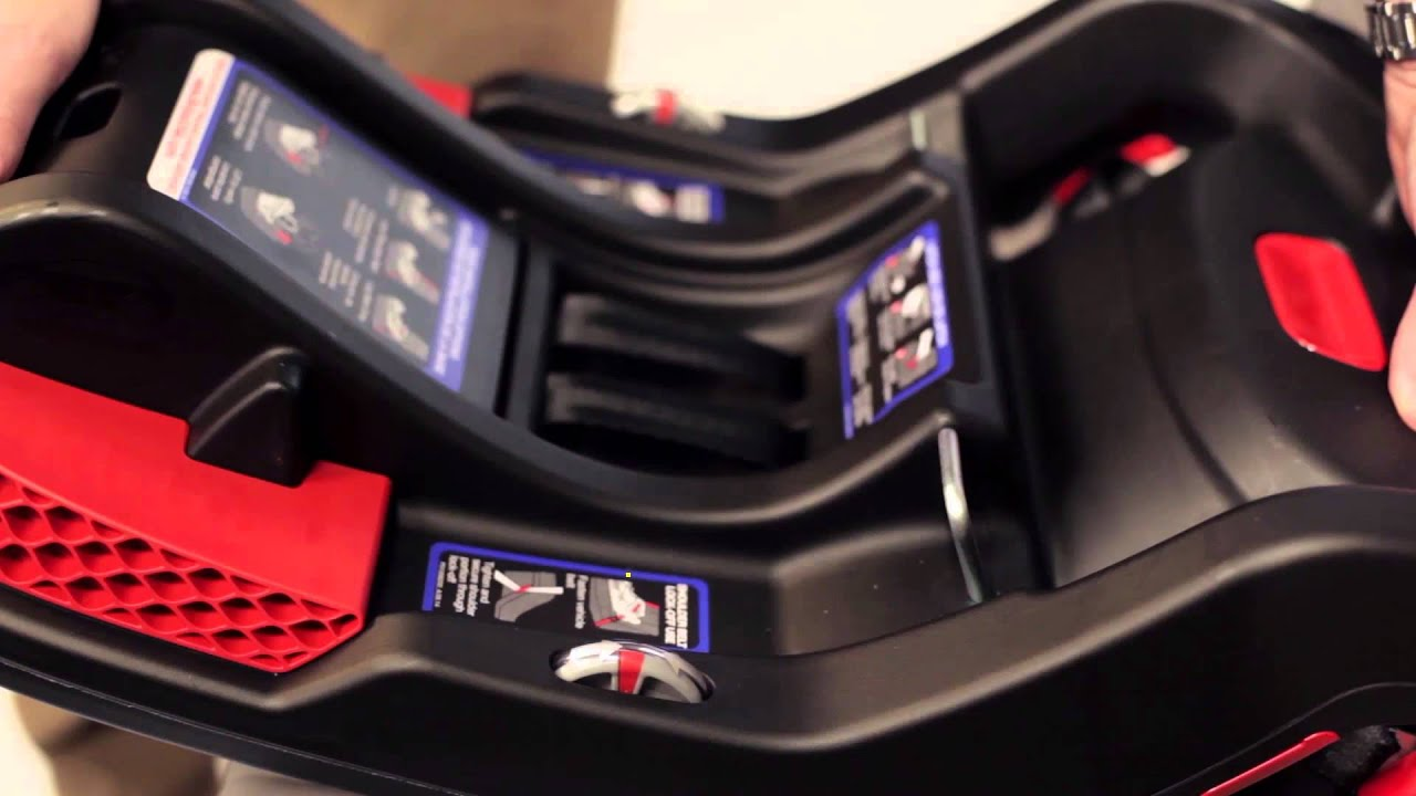 Britax B Safe 35 35 Elite Infant Car Seat Installation Video Youtube