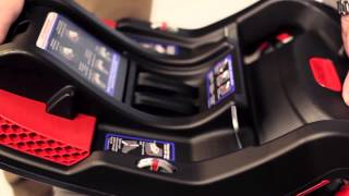 Britax B-Safe 35 & 35 Elite Infant Car Seat Installation Video(How to install the Britax B-Safe 35 and B-Safe 35 Elite infant car seat base using the lap belt., 2015-05-29T12:29:34.000Z)