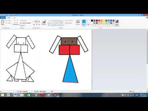 Hagamos Un Dibujo Con Figuras Geométricas Youtube