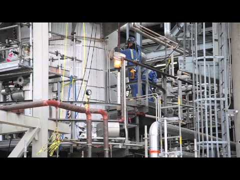 Shell Scotford refinery turnaround