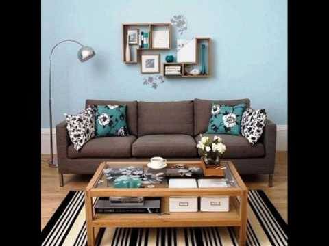 Merveilleux Turquoise And Brown Living Room Ideas