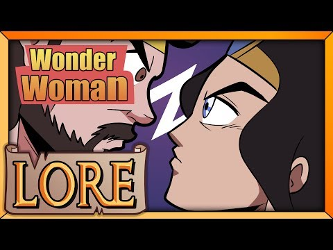 WONDER WOMAN: Diana of Themyscira | LORE in a Minute! | DC Comics Heroine | Sara Secora | LORE