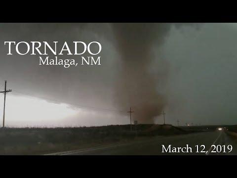 Tornado Close Range - Malaga, NM - 03/12/2019