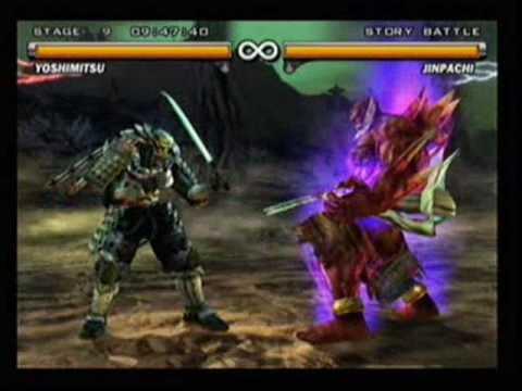 Tekken 5 Jinpachi Ultimate Fireball Youtube