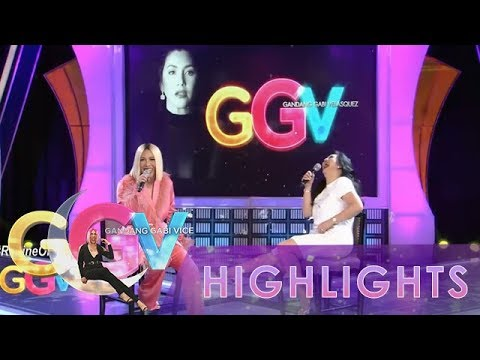 GGV: Regine Velasquez-Alcasid thinks of being the new host of GGV