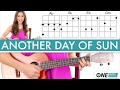 """How to play """"Another Day of Sun"""" from La La Land - Ukulele Tutorial video & mp3"""
