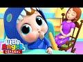 Es Hora de Dormir Bebé 😴 & Canciones Infantiles de la Familia | Little Angel Español
