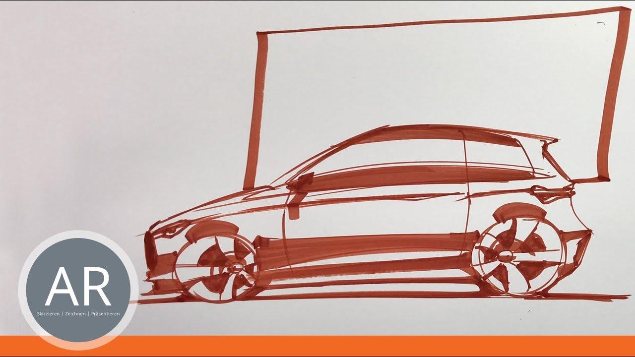 Autos Schnell Zeichnen Lernen Concept Cars Mappe Transportation