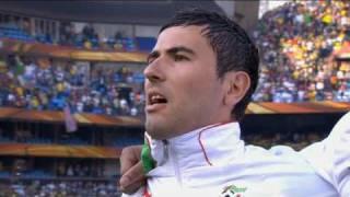 algerian anthem world cup 2010 HD 720p