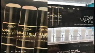 Reaction to LOREAL INFALLIBLE GALAXY STICK