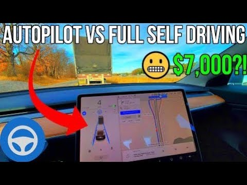 Tesla Autopilot vs Full Self Driving in 2020 | What's the Difference? | Is FSD Worth $8,000?! |