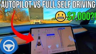 Tesla Autopilot vs Full Self Driving in 2020 | What's the Difference? | Is FSD Worth $7,000?! |