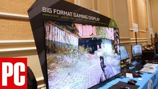 CES 2018: BFGDs Offer 65 Inches of Gaming Glory