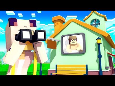 Wir SPIONIEREN unseren NACHBARN AUS! ✿ Minecraft HAUS [Deutsch/HD]