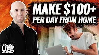 7 Ways To Make Extra Money From Home (Make $100+ Per Day!)