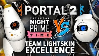 PORTAL 2 CO-OP PRIMETIME VS! [Team Lightsking Excellence]
