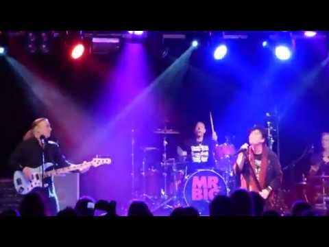 Everybody Needs A Little Trouble ' Live ' Mr Big Rock City 16th November 2017
