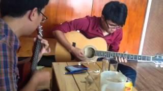 Papa- hoà tấu ukulele vs guitar