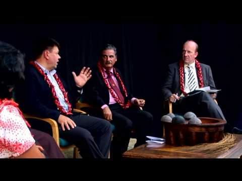 Small Island leaders discuss how to deal with the increasing impacts of extreme weather