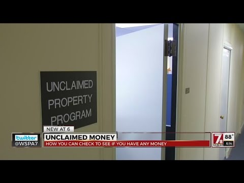 Unclaimed Money SC