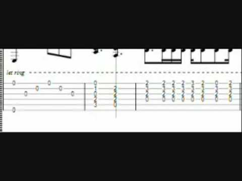 Metallica - Nothing Else Matters Tabs - YouTube