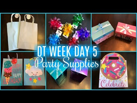 DOLLAR TREE HAUL | PARTY SUPPLIES | DT WEEK DAY 5