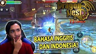 DRAGON NEST MOBILE SUDAH BAHASA INGGRIS DAN INDONESIA ! (ANDROID)