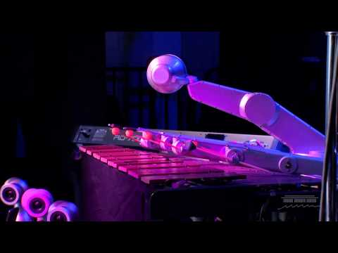 """Robot Music: Shimon Robotic Performs """"Steady As She Goes"""