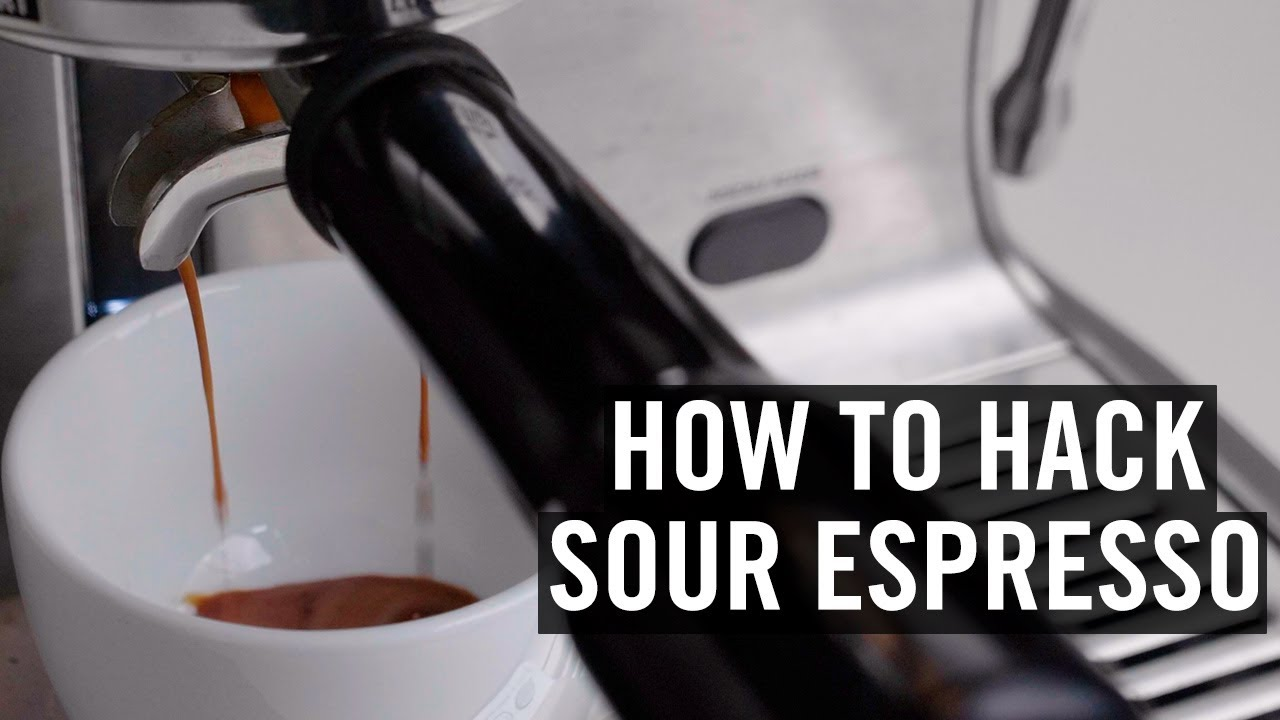 Weird Coffee Science: Hacking Sour Espresso