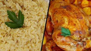 دجاج محشي و مشوي على طريقه ماما من مطبخ خلود