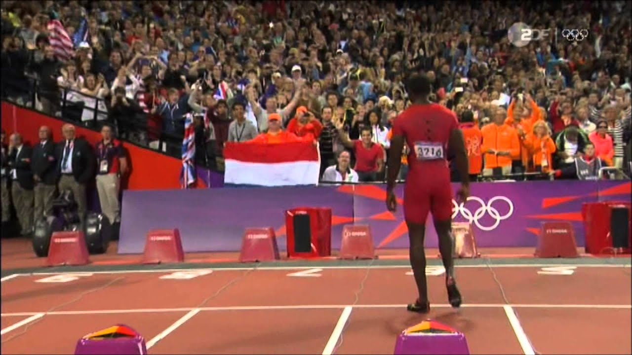 Olympia London 2012 100 m Final Man