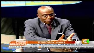 Power Breakfast Interview With Ahmednasir Abdullahi, Judiciary Wars