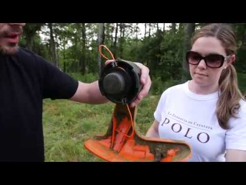 How To Change Your String On A Stihl String Trimmer Bump Feed