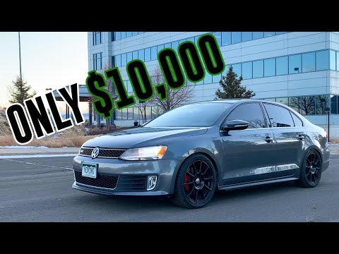 I Bought Cheap FWD VW Jetta GLI 2013 Review from Copart Auction // Burning Rubber Review