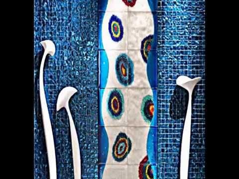 Kunstvolle Mosaik Badezimmer Fliesen Von Nella Vetrina - Youtube Badezimmer Fliesen Mit Mosaik Muster