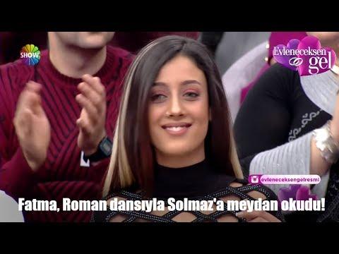 Fatma, Roman dansıyla Solmaz'a meydan okudu!