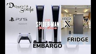 PS5 Embargo? |  Demon's Souls PS5 Impressions | Benq PS5 4k 60 Standard | Xbox Series X Fridge