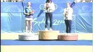 2000 Tennis Olympic Medal Ceremony