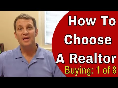 How To Choose A Realtor - Hiring A Buyers Agent