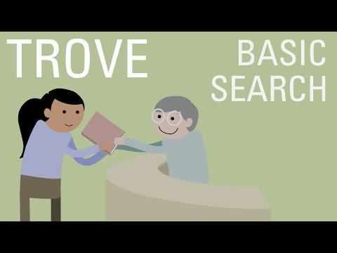 Trove - Basic Search